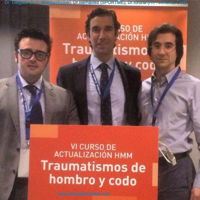 DRS DELGADO, BERNALDEZ y FORURIA-TRAUMATISMOS HOMBRO Y CODO-SPORTME