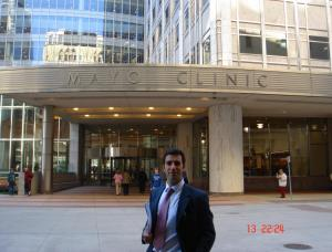 Dr Bernaldez in Mayo Clinic USA