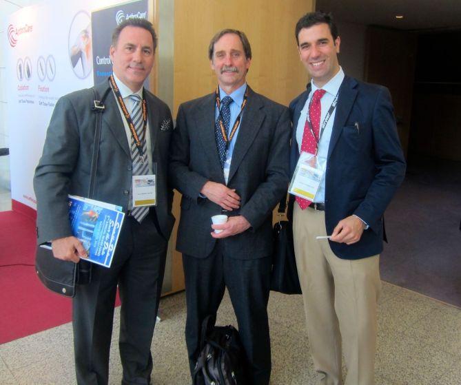 Drs Badia,Savoie y Bernáldez XXX Congreso AEA Valencia
