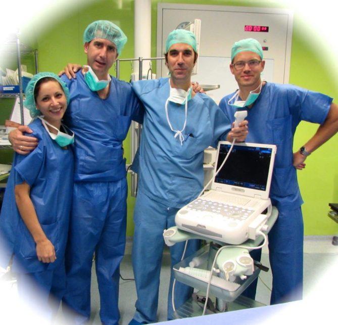 Equipo Quirurgico I Jornadas CUMI Sevilla