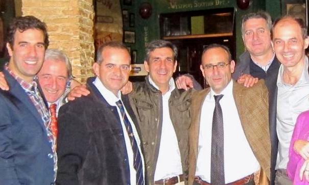 DRS. BERNÁLDEZ, GÓMEZ, FLORES, AREVALO,PRIETO,CARDENAS Y KANY durante una Reunión del Grupo GANCHO