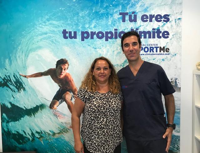 Recibimos pacientes de toda España.Reserve una cita con formulario online