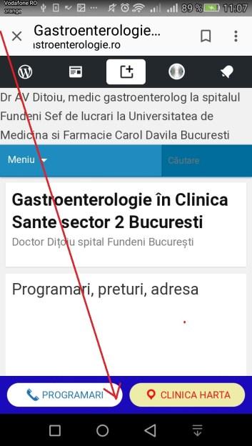 Programare gastroenterologie