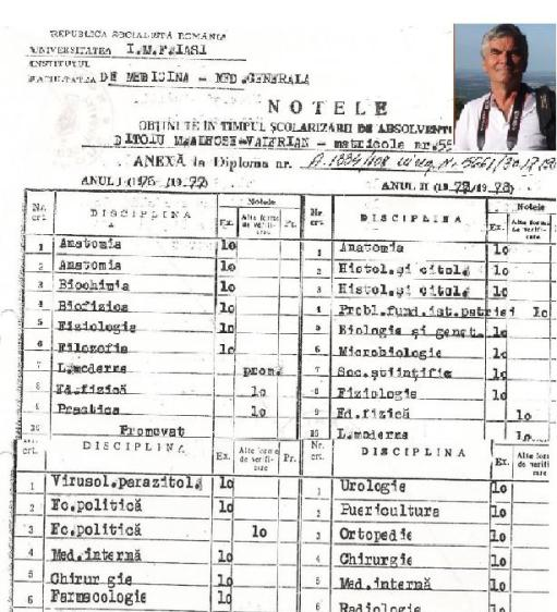 Cv Dr Ditoiu gastroenterolog Bucuresti