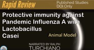 Significant Flu protection via Lactic Acid bacteria