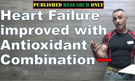 Heart Failure improved with Antioxidant Combination