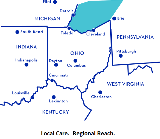 Clinical Specialties, Inc  Service Area