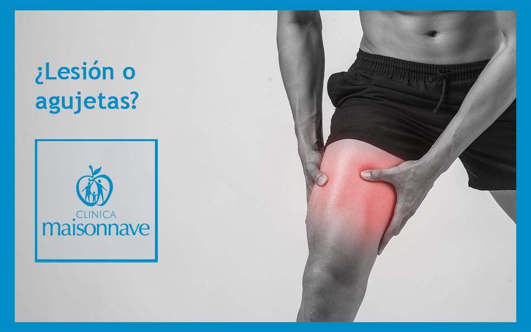 ¿Cómo diferenciar una lesión de unas simples agujetas?