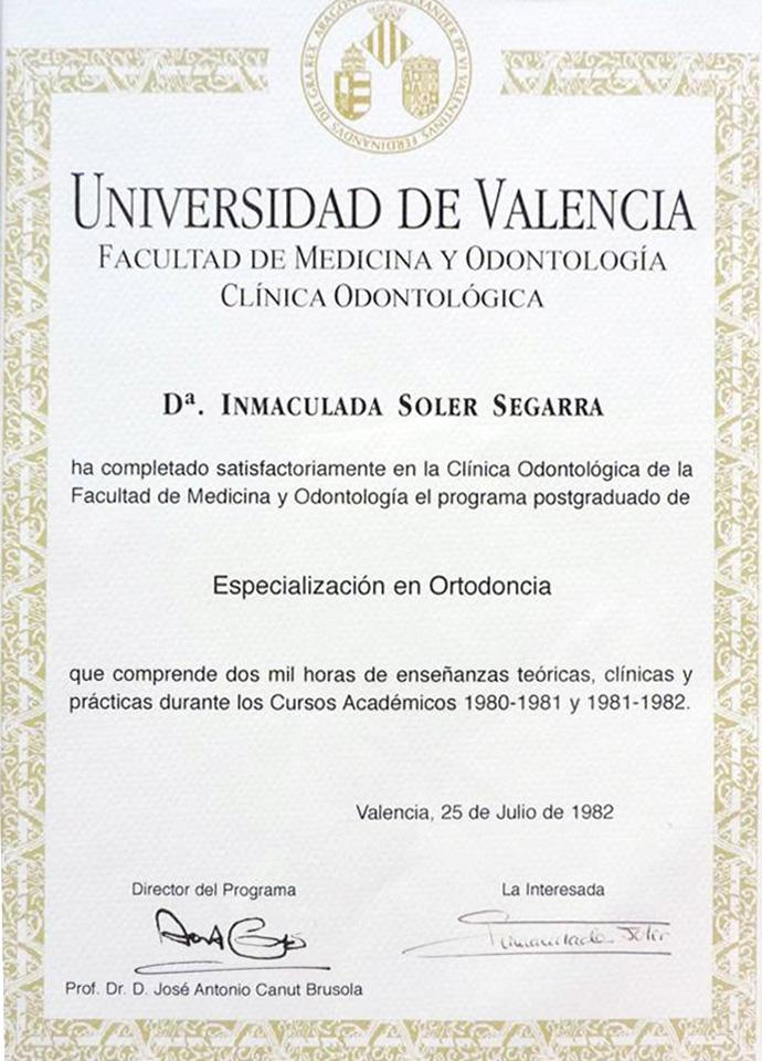 Cl nica dental soler cl nica dental soler valencia for Universidad de valencia master
