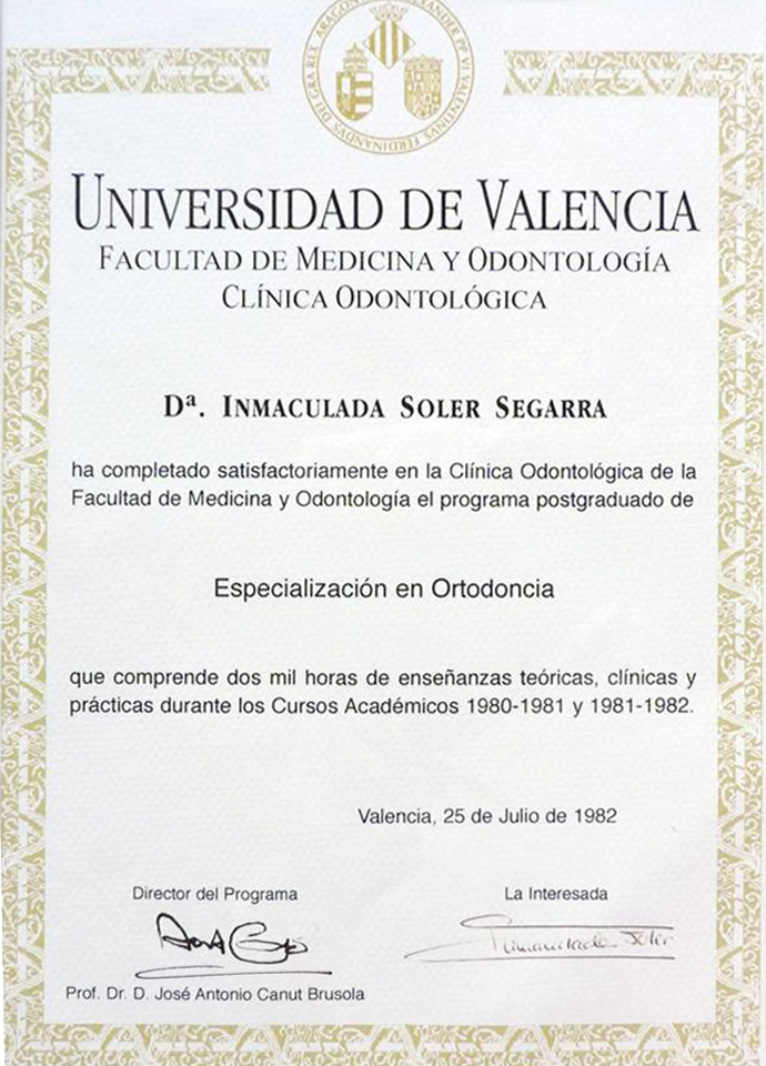 Cl nica dental soler cl nica dental soler valencia for Universidad valencia master