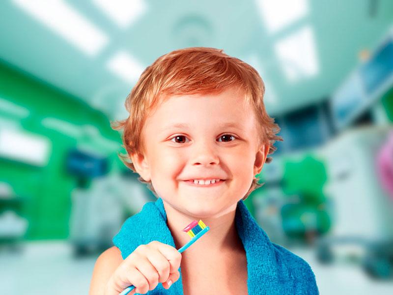 La salud bucal entre los más pequeños