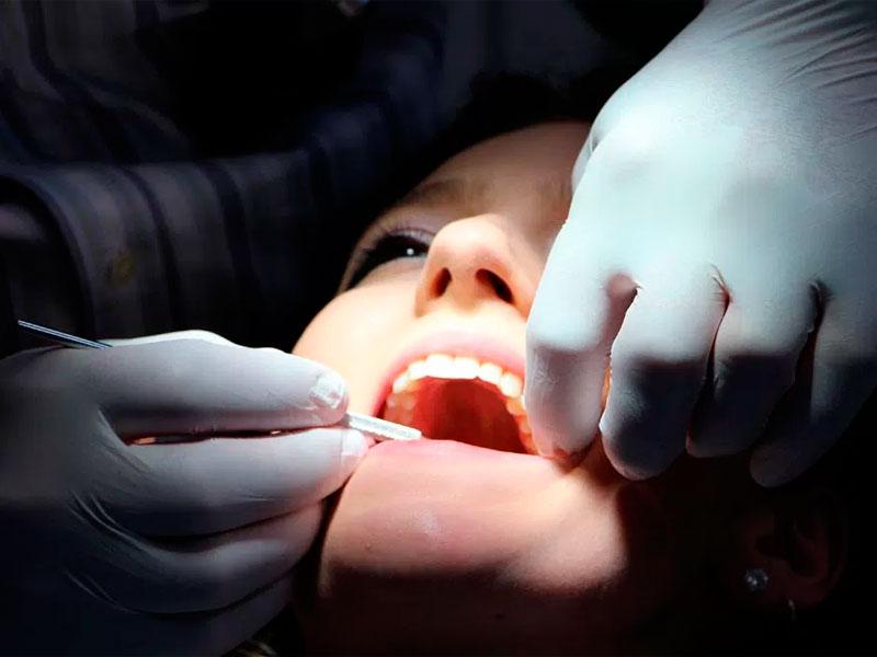Revise su boca una vez al año por salud