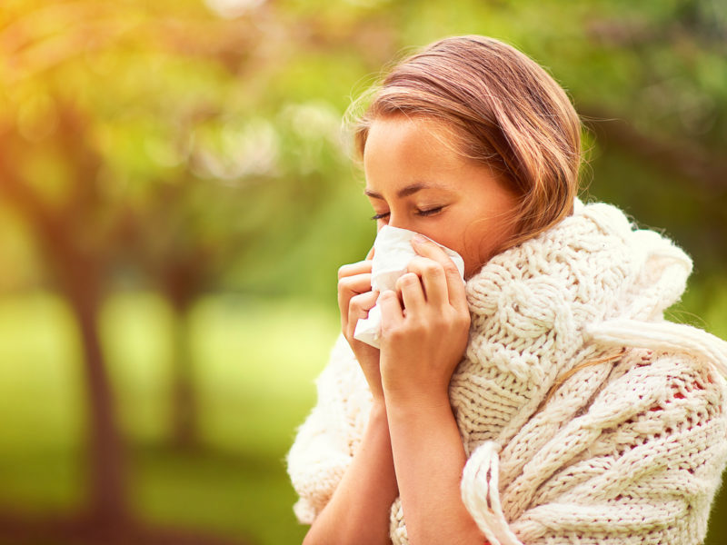 Las alergias primaverales y la salud bucodental