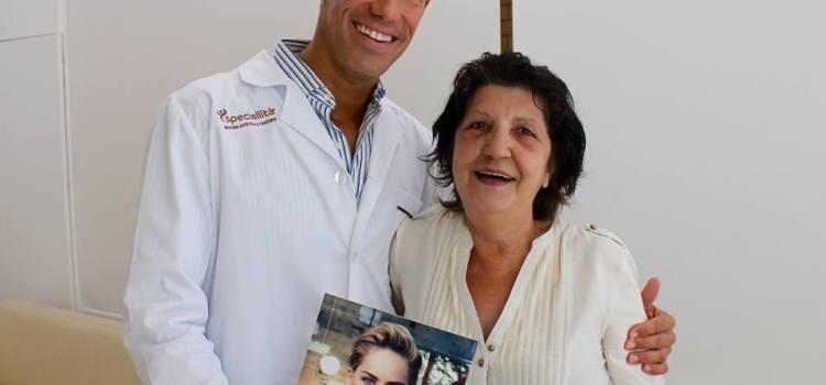 tratamento-de-rejuvenescimento-facial- Grande vencedora do sorteio de um tratamento de rejuvenescimento facial total Notícias