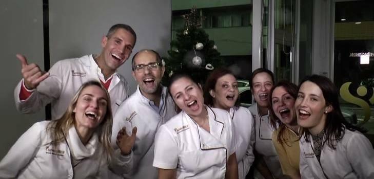 equipa Mensagem de Natal- Equipa Speciallità Notícias