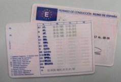 Imagen carnet de conducir