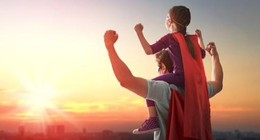 imagen padre e hijo actitud positiva