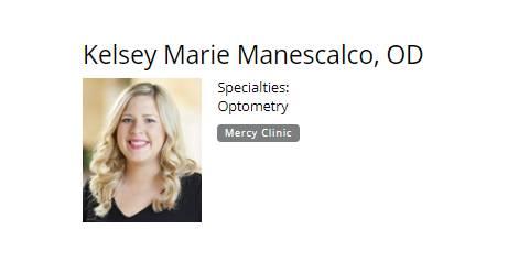 Kelsey Marie Manescalco, OD