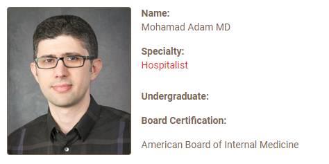 Mohamad Adam MD