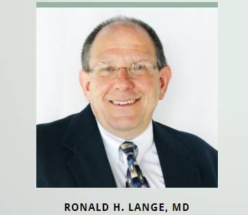 Ronald H. Lange, MD