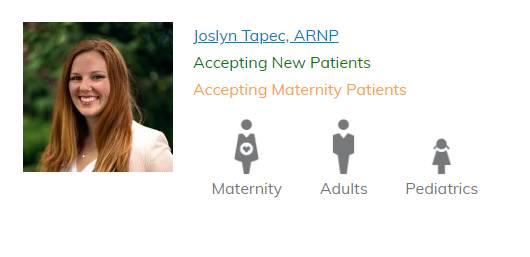 Joslyn Tapec, ARNP