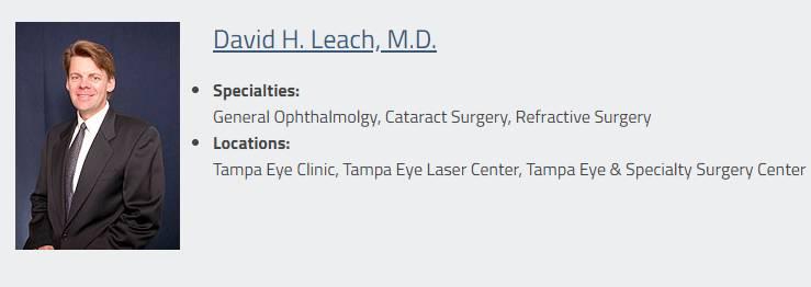 David H. Leach, M.D