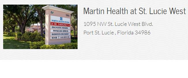 Martin Health at St. Lucie West
