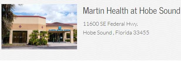 Martin Health at Hobe Sound