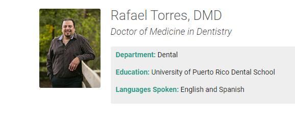 Rafael Torres, DMD
