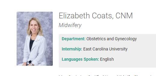 Elizabeth Coats, CNM