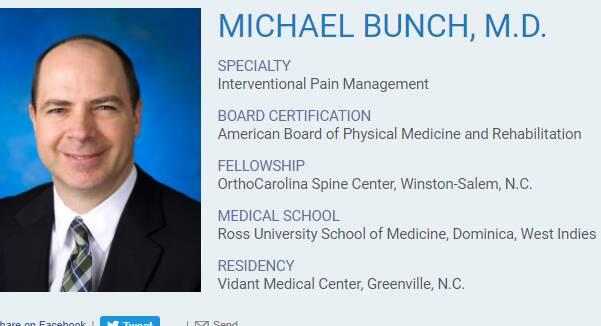 Michael Bunch, M.D.