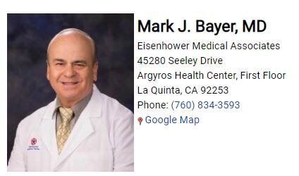 Bayer Mark J. MD
