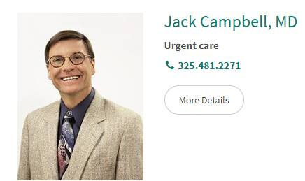 Jack Campbell, MD
