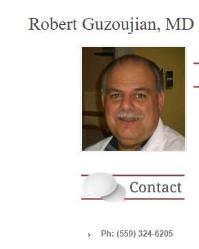 Robert Guzoujian, MD