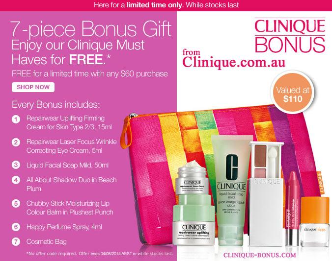 clinique bonus dates pastry