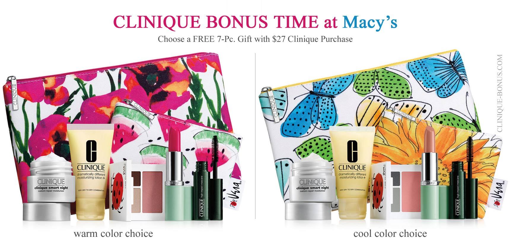 clinique bonus time at