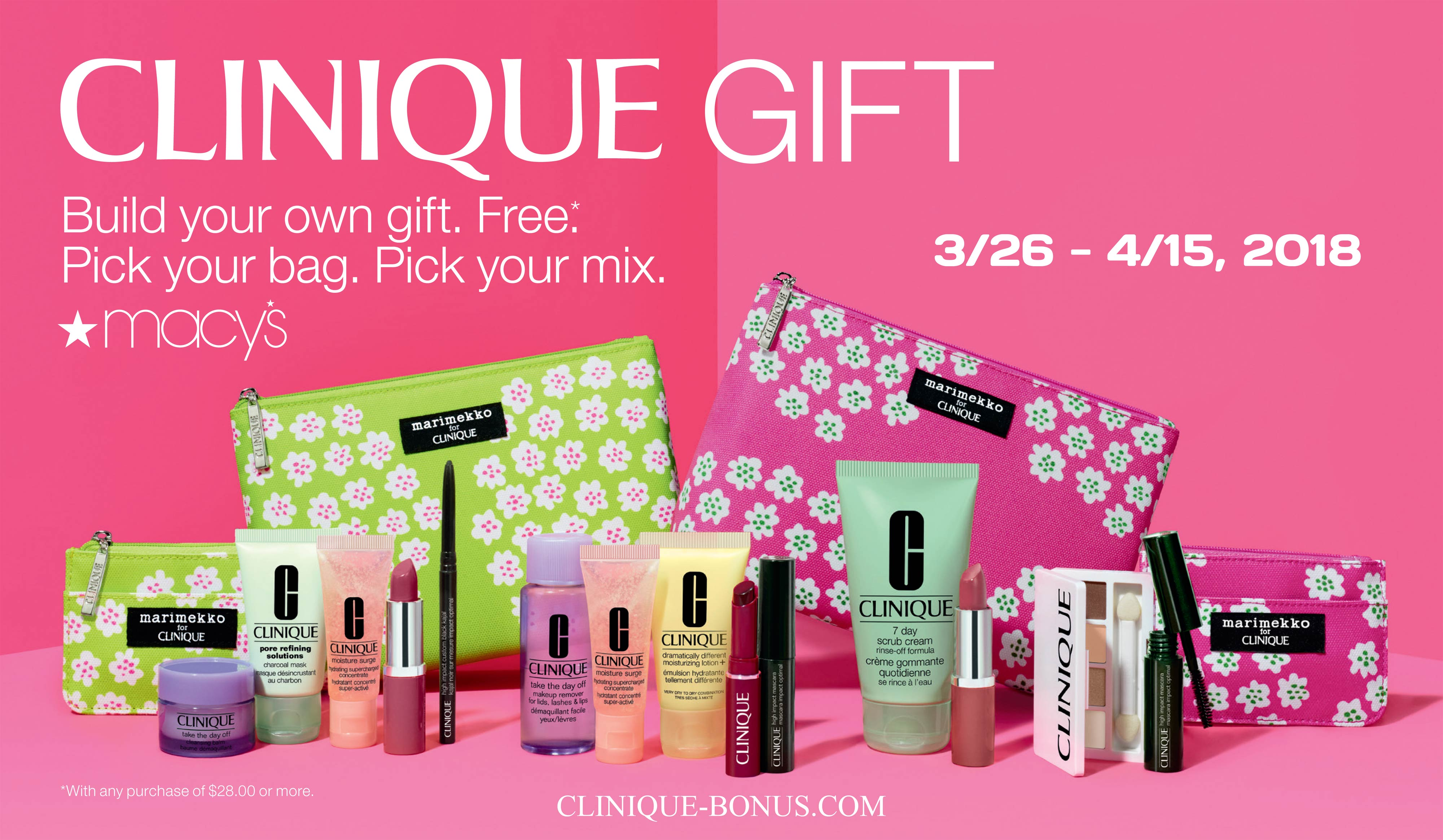 fall clinique gift at