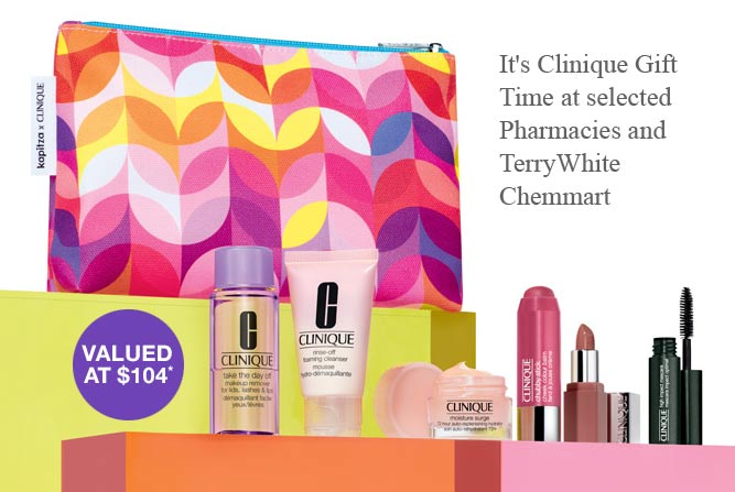 clinique makeup gift with