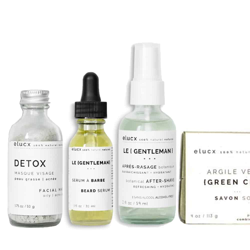 The {GENTLEMAN} * DELUXE * men skin care set