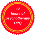 recognized for 12 hours of continuing education in psychotherapy by the Ordre des psychologues du Québec