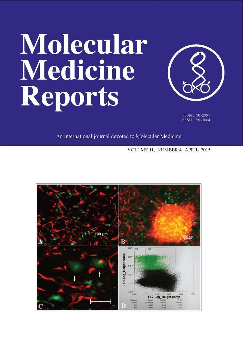 Molecular Medicine Reports
