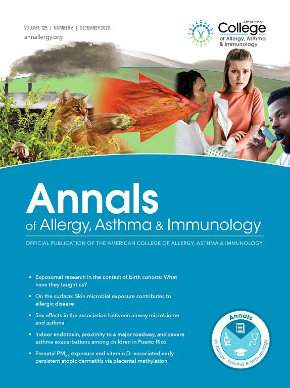 Annals of Allergy, Asthma & Immunology