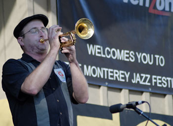 clint baker at the montery jass festival