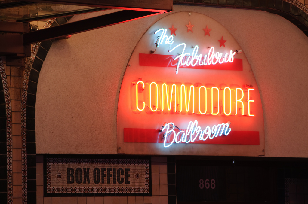 The Commodore Ballroom by Chris Ghelen CC-BY-ND