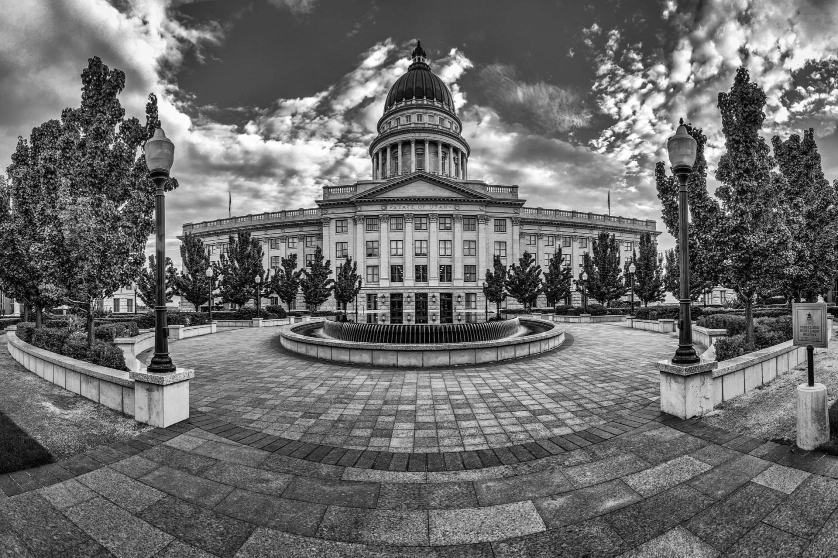 Salt Lake Capitol Court - Salt Lake City Urban Photography