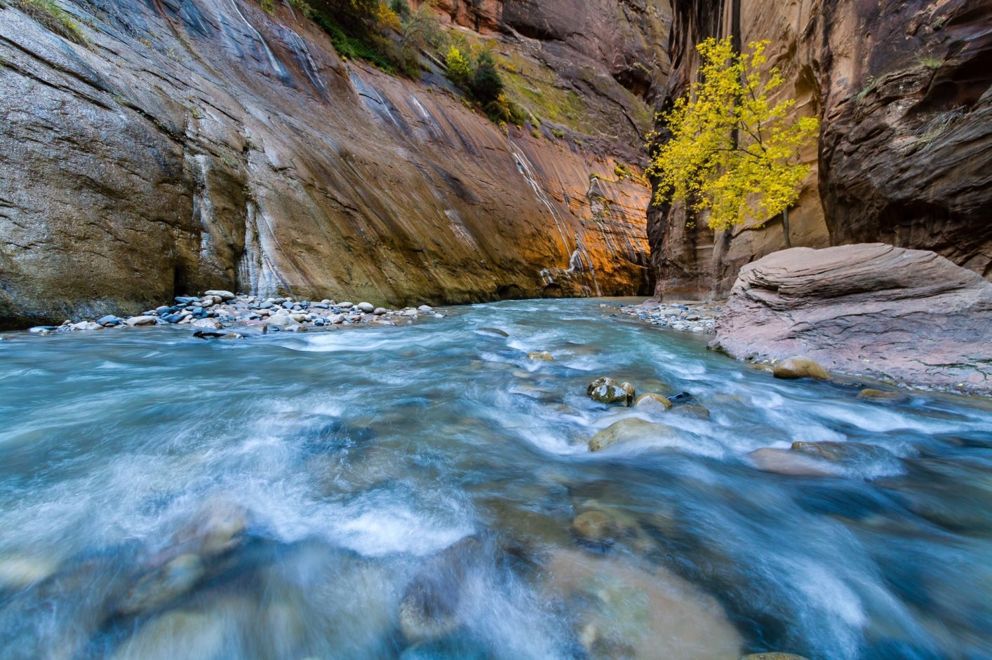 The Narrows Glow - Utah Landscape Photography