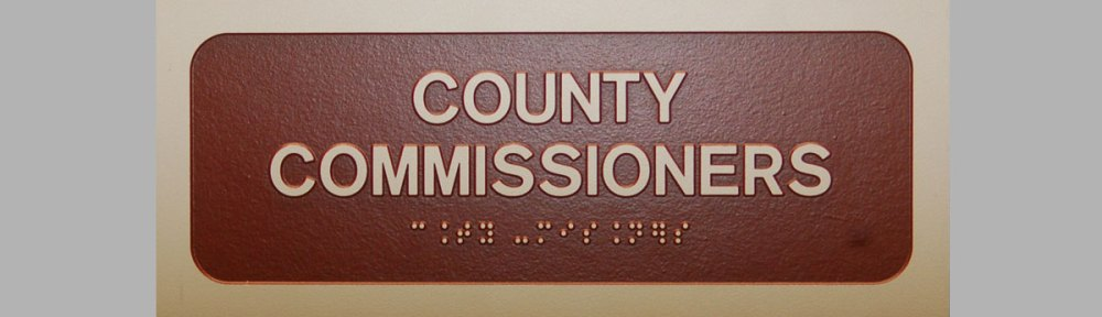 Clinton County Commissioners Sign