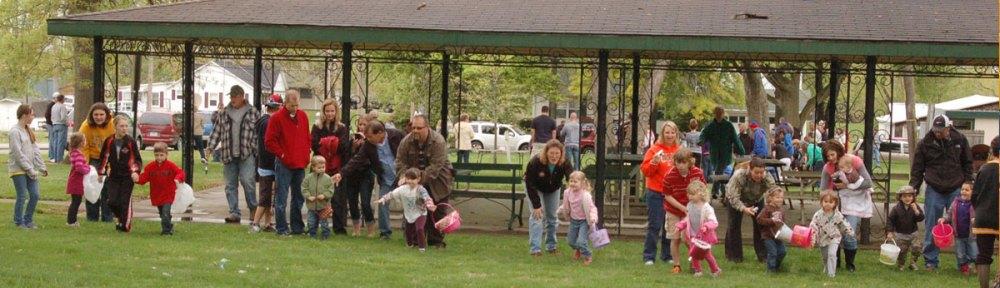 Easter Egg Hunt at Gower City Park