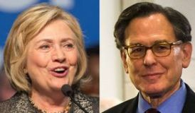 Hillary Clinton and Sidney Blumenthal (Credit: Zumey Press and Evangelical Press Association)