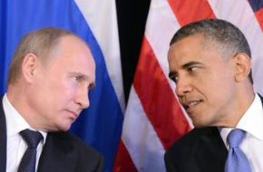 Obama and Putin have a pull-aside meeting at the G20 Summit in China on September 5, 2016. (Credit: Hamari Web)